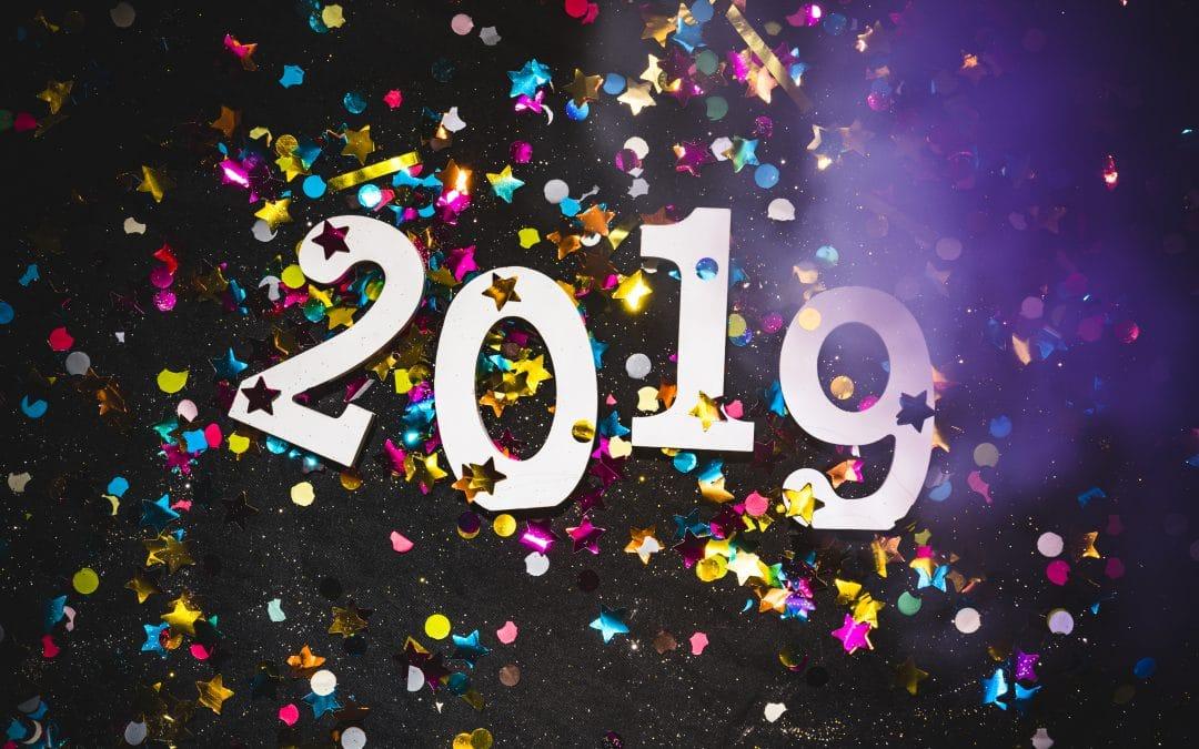 DigitalStream sveic visus Jaunajā 2019.gadā!